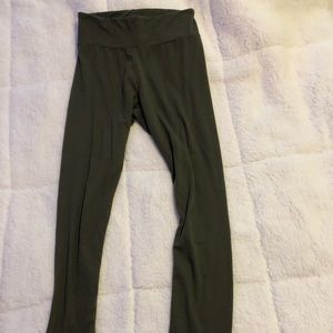 Olive green super soft leggings
